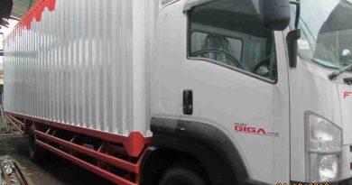 truk box besi