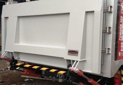 Tailgate Capacity 500 Kg.